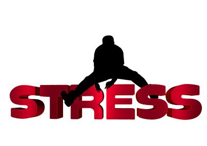 Stress, eksem